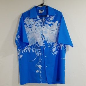 Authentic imported Hawaiian Hilo Hattie shirt